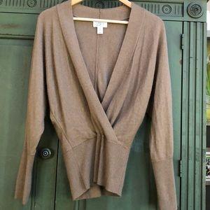 Ann Taylor Loft Angora Wrap Sweater